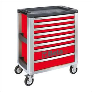 8-Drawer Aluminum Roller Tool Cabinet