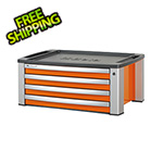 Beta Tools 4-Drawer Aluminum Tool Chest (Orange)