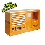 Beta Tools Mobile Racing Roller Cabinet with Worktop