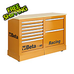 Beta Tools Mobile Racing Rolling Cabinet with Worktop
