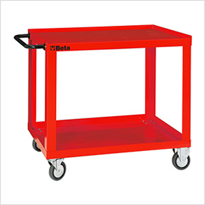 2-Shelf Shop Cart