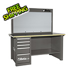 Beta Tools MasterCargo 5-Drawer Workbench with Back Panel