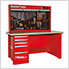 MasterCargo 5-Drawer Workbench with Back Panel