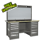 Beta Tools MasterCargo 10-Drawer Workbench with Back Panel