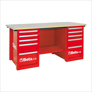 MasterCargo 10-Drawer Workbench