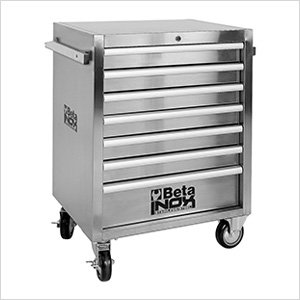 7-Drawer Stainless Steel Tool Cabinet