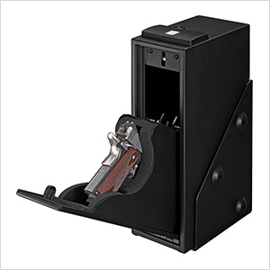 Quick Access Pistol Safe with Biometric Lock