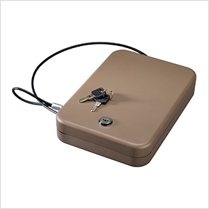 Portable Case with Key Lock