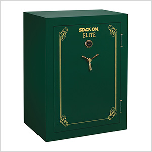 Elite Fire-Resistant 69-Gun Safe with Combination Lock