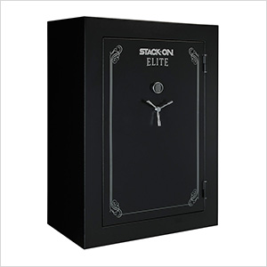 Elite Fire-Resistant 90-Gun Safe with Electronic Lock (72 Inches Tall)