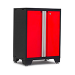 NewAge Garage Cabinets BOLD 3.0 Series Red 2-Door Base Cabinet