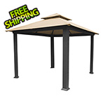 Paragon Outdoor 10 x 10 ft. Catalina Gazebo with Sand Canopy