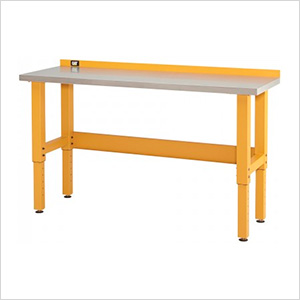 6-Foot Stainless Steel Workbench