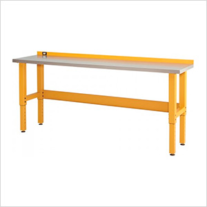 8-Foot Stainless Steel Workbench