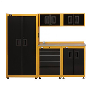 7-1/2 Foot Garage Storage Organization Set