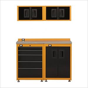 4-1/2 Foot Garage Storage Organization Set