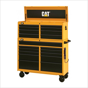 "52"" Wide 19-Drawer Tool Chest and Cabinet Combo"