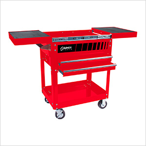 Compact Slide Top Utility Cart (Red)