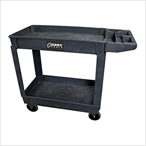 Compact Heavy Duty Utility Cart (Black)