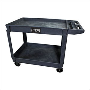 Oversized Heavy Duty Utility Cart (Black)