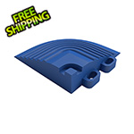 Swisstrax Royal Blue Garage Floor Tile Corner