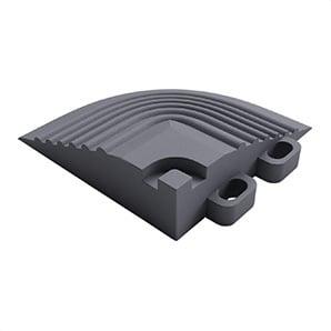 Slate Grey Garage Floor Tile Corner