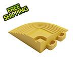 Swisstrax Citrus Yellow Garage Floor Tile Corner (4-Pack)