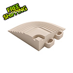Swisstrax Ivory Garage Floor Tile Corner
