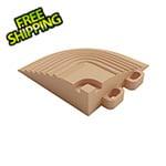 Swisstrax Mocha Java Garage Floor Tile Corner