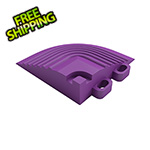 Swisstrax Cosmic Purple Garage Floor Tile Corner