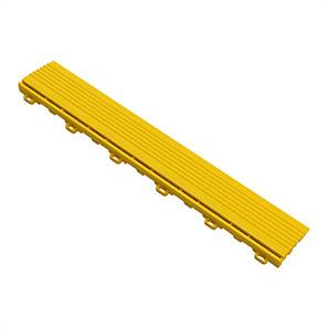 Citrus Yellow Garage Floor Looped Edge