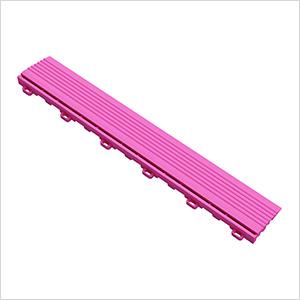 Carnival Pink Garage Floor Looped Edge