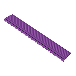 Cosmic Purple Garage Floor Pegged Edge