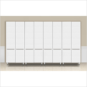 4-Piece Tall Cabinet Set in Starfire Pearl