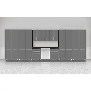 """10-Piece """"Exclusive"""" Garage Cabinet Kit"""