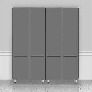 2-Piece Tall Garage Cabinet Kit