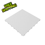 Swisstrax Arctic White Diamondtrax Garage Floor Tile (9-Pack)