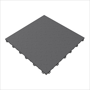 Slate Grey Diamondtrax Garage Floor Tile (9-Pack)