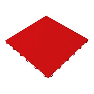 Racing Red Diamondtrax Garage Floor Tile (9-Pack)