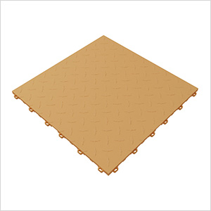 Mocha Java Diamondtrax Garage Floor Tile (9-Pack)