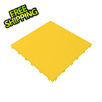Swisstrax Citrus Yellow Diamondtrax Garage Floor Tile (9-Pack)