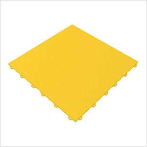 Citrus Yellow Diamondtrax Garage Floor Tile (9-Pack)