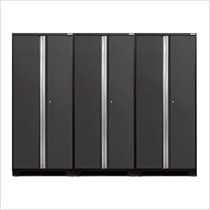 3 x PRO 3.0 Series Grey Multi-Use Lockers