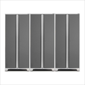 3 x PRO 3.0 Series White Multi-Use Lockers