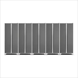 5 x PRO 3.0 Series White Multi-Use Lockers