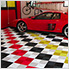 Arctic White Ribtrax Garage Floor Tile (9-Pack)