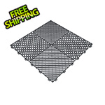 Swisstrax Slate Grey Ribtrax Garage Floor Tile (9-Pack)