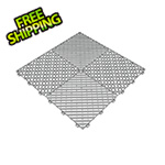 Swisstrax Pearl Grey Ribtrax Garage Floor Tile (9-Pack)