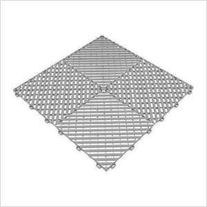 Pearl Grey Ribtrax Garage Floor Tile (9-Pack)