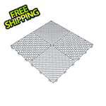 Swisstrax Pearl Silver Ribtrax Garage Floor Tile (9-Pack)